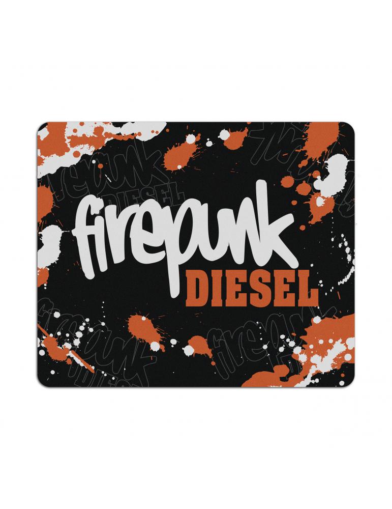 Firepunk Diesel Mouse Pad