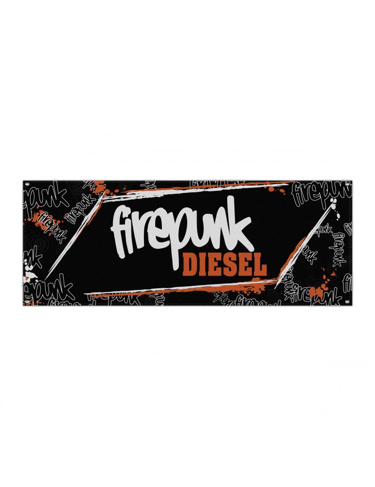 Firepunk Diesel Banner