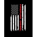 Firepunk American Flag Hoodie
