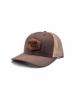 Firepunk Leather Patch Hat
