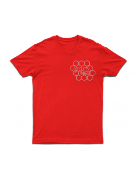 Firepunk Red Honeycomb T-Shirt