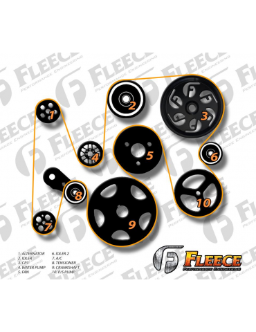 Fleece 6.7L Dual Pump Hardware Kit