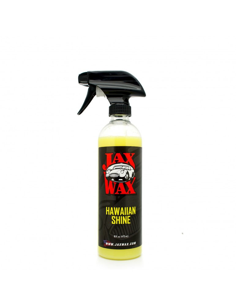 Jax Wax Hawaiian Shine Spray Car Wax 16 oz.