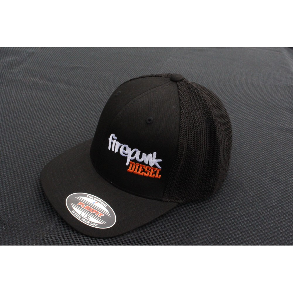 Meshback Flexfit Embroidered Hat